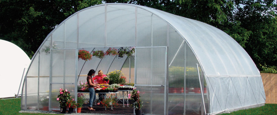 GrowSpan Round Pro Greenhouses